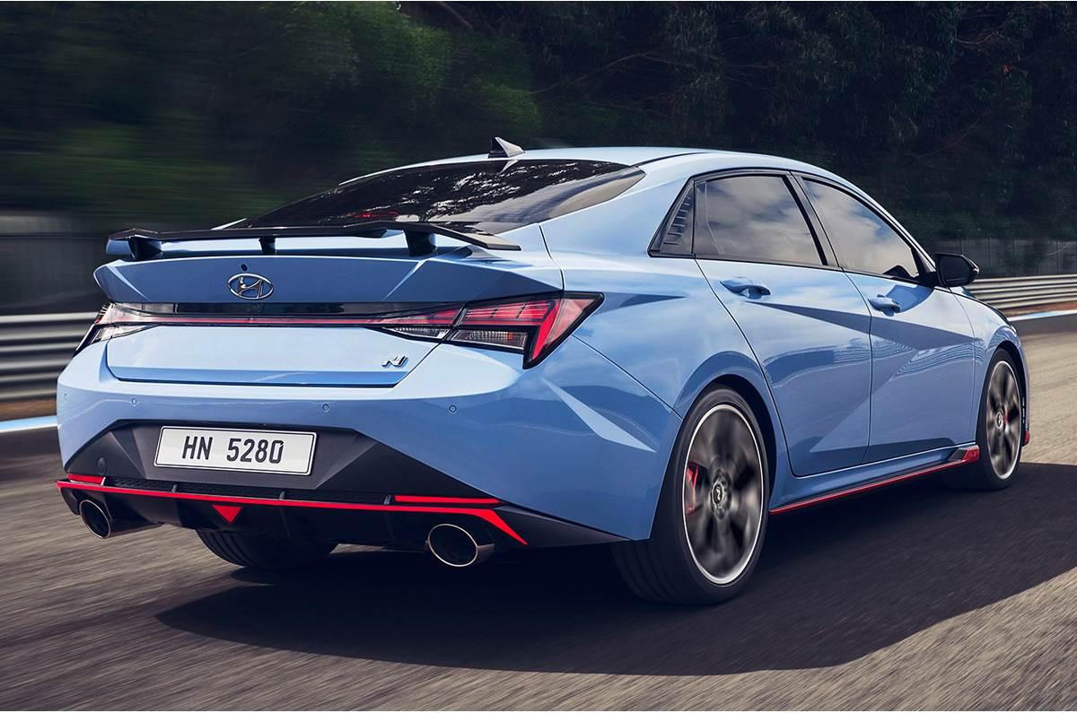 2022 Hyundai-Elantra-N-rear-quarter