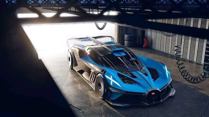 Bugatti Bolide Hypercar