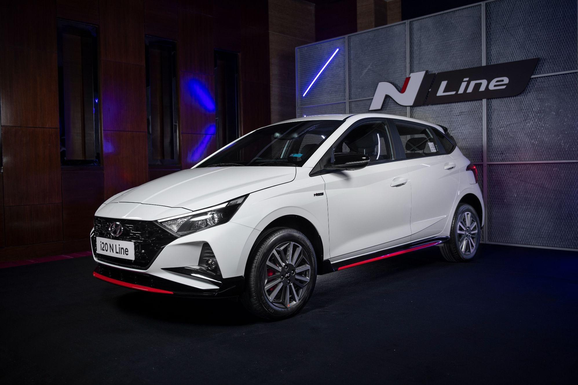 2021 Hyundai i20 N Line revealed front