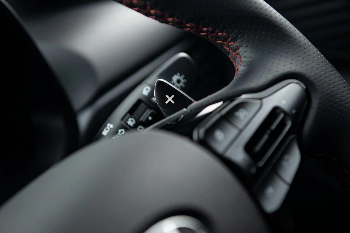 2021 Hyundai i20 N Line interior Steering wheel