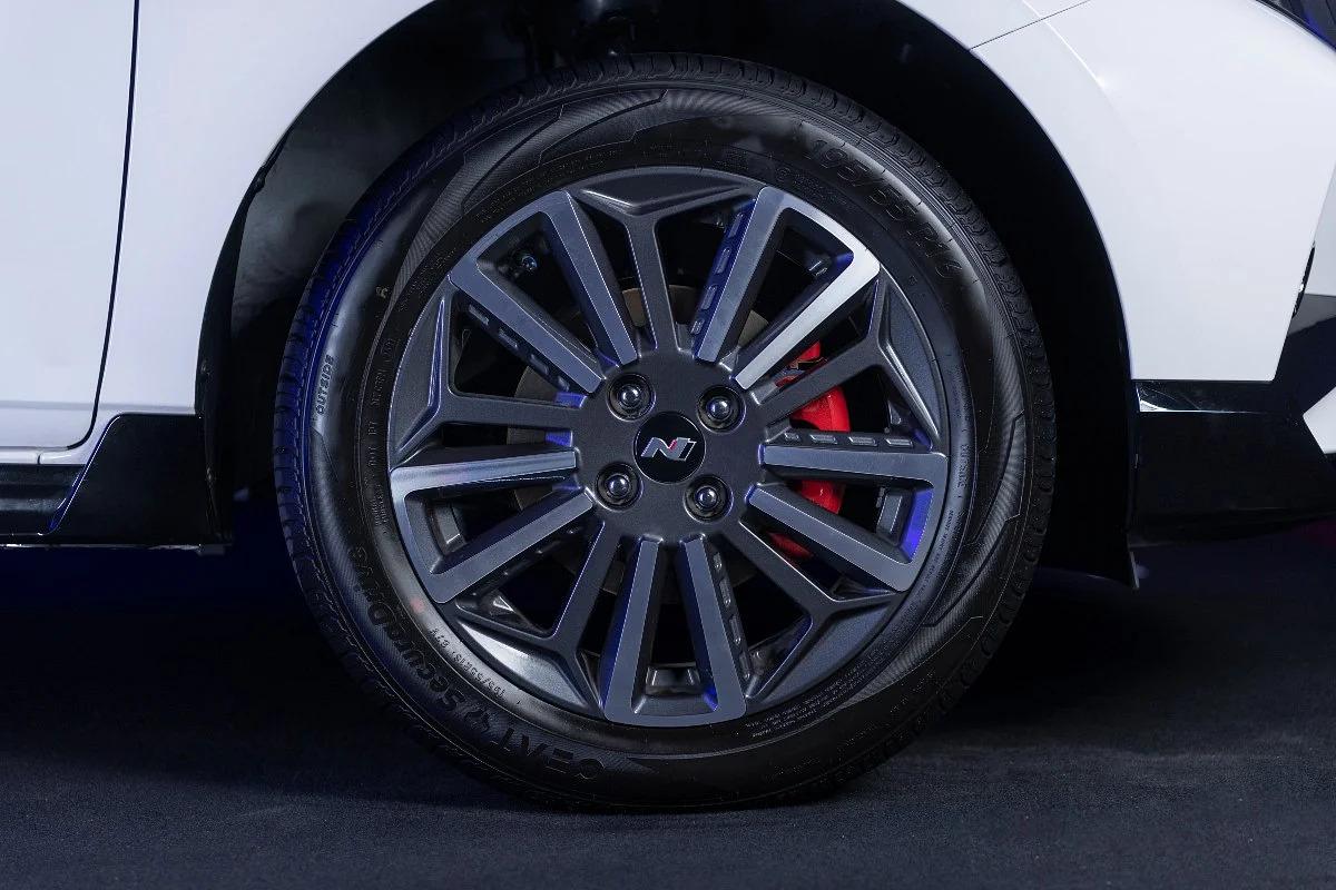 2021 Hyundai i20 N Line wheels