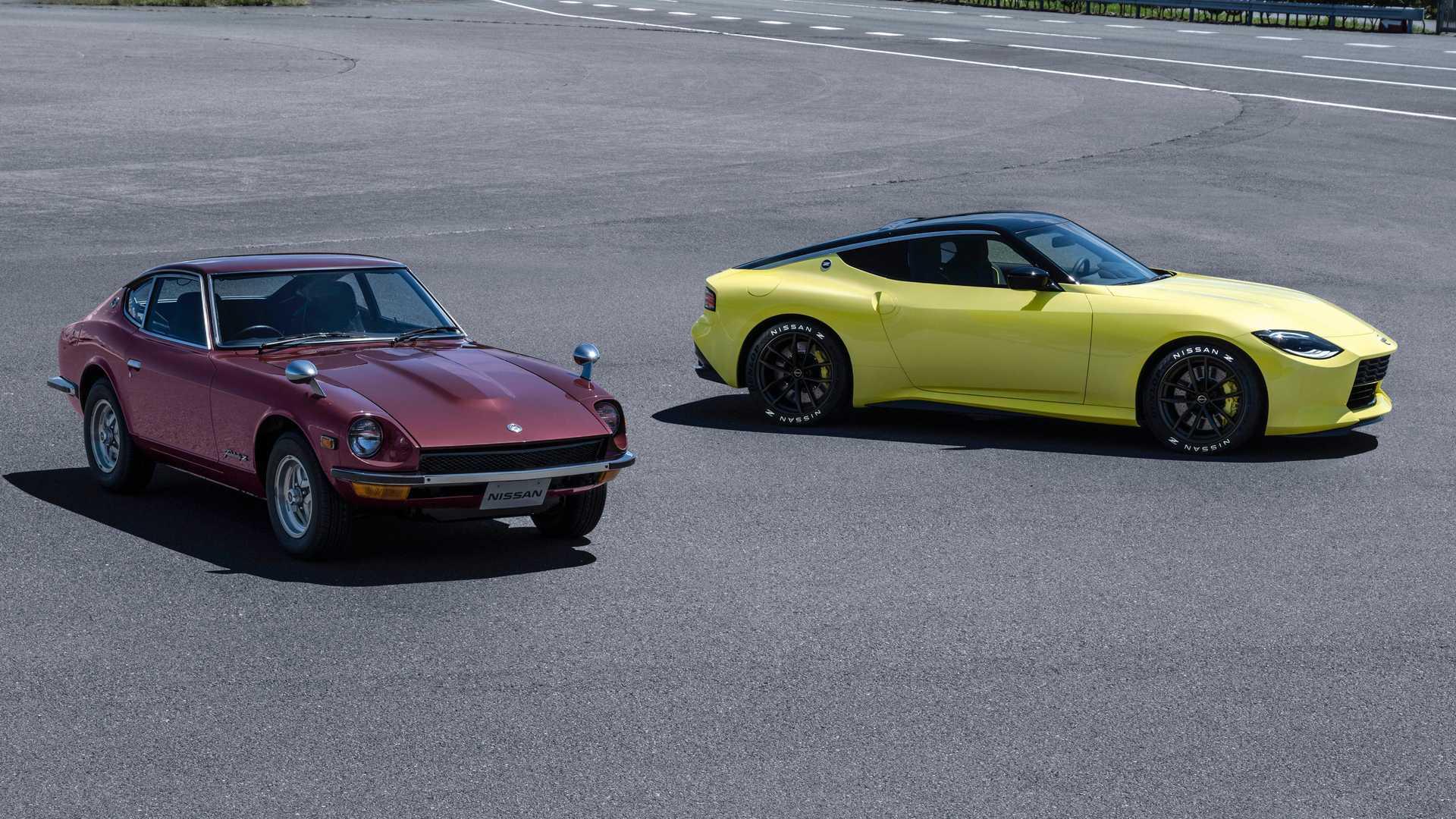 Nissan Z Proto Inspired from the original 240Z