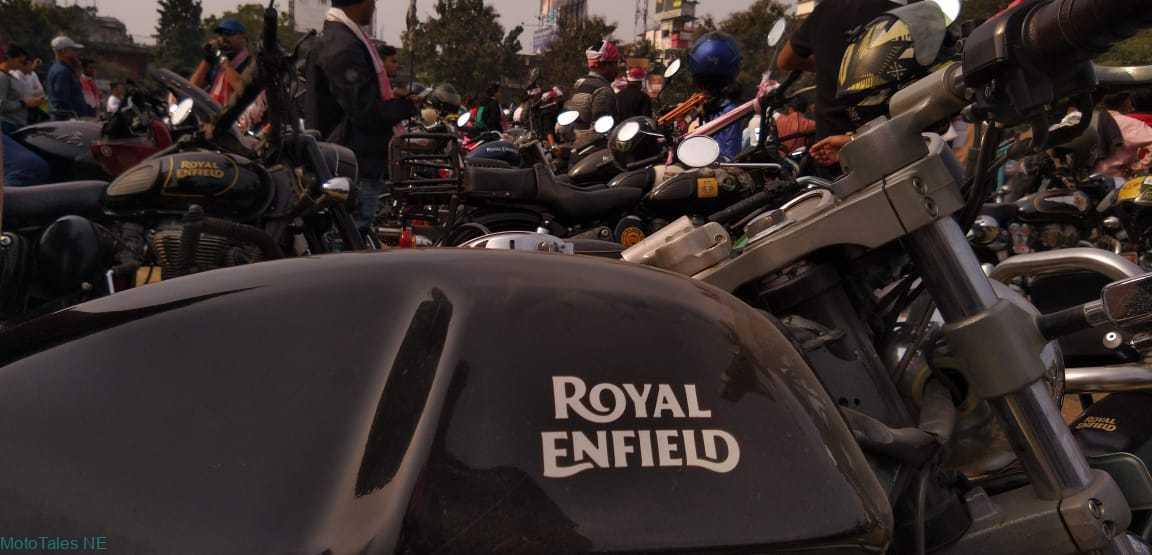 Royal Enfield Continental GT 535 fuel tank