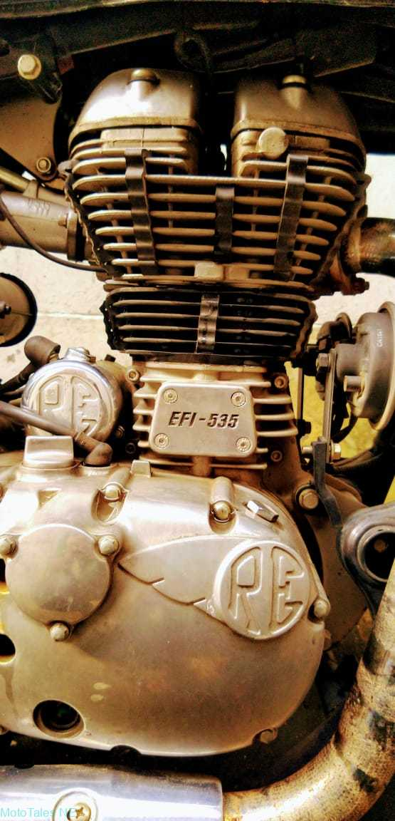 Royal Enfield Continental GT 535 Engine