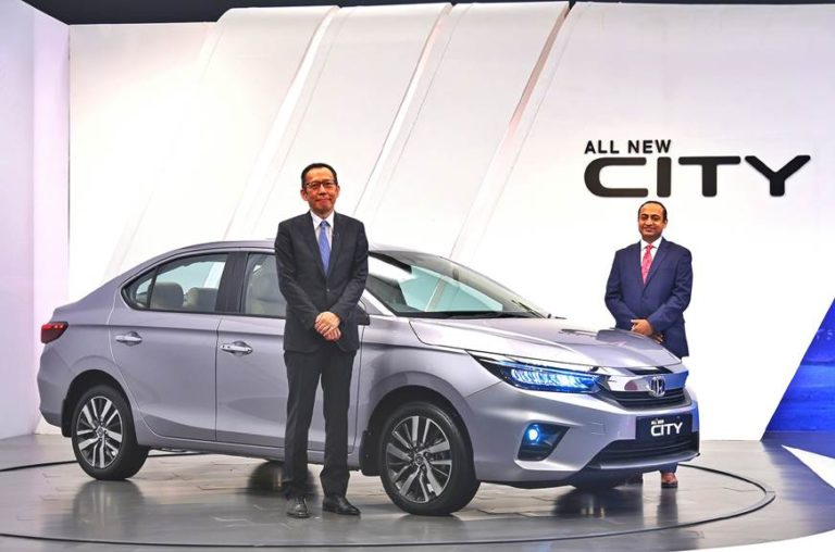 New 2020 Fifth-Gen Honda City Launched at Rs 10.90 Lakh.