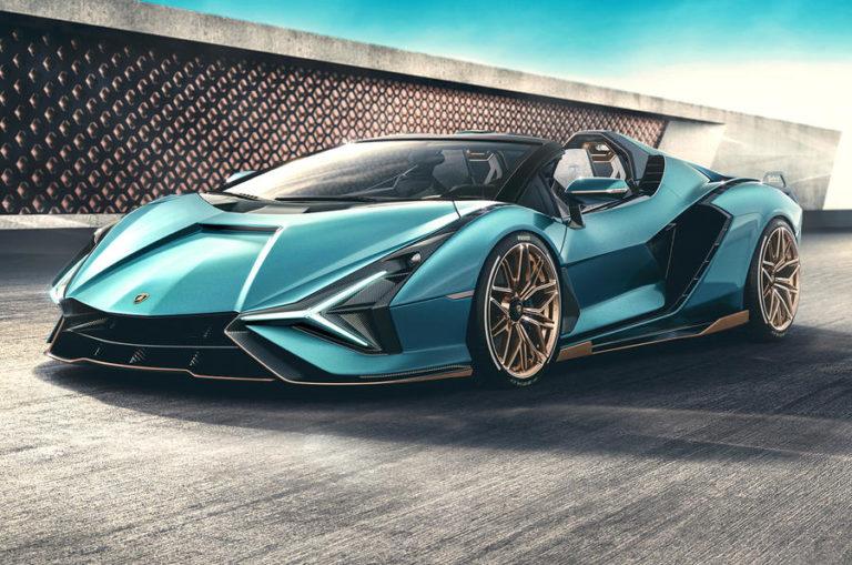 Lamborghini Sian Hypercar Roadster Variant Revealed