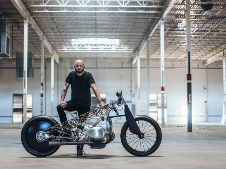 """""""Revival Birdcage Motorcycle"""" is a Custom BMW R18"""