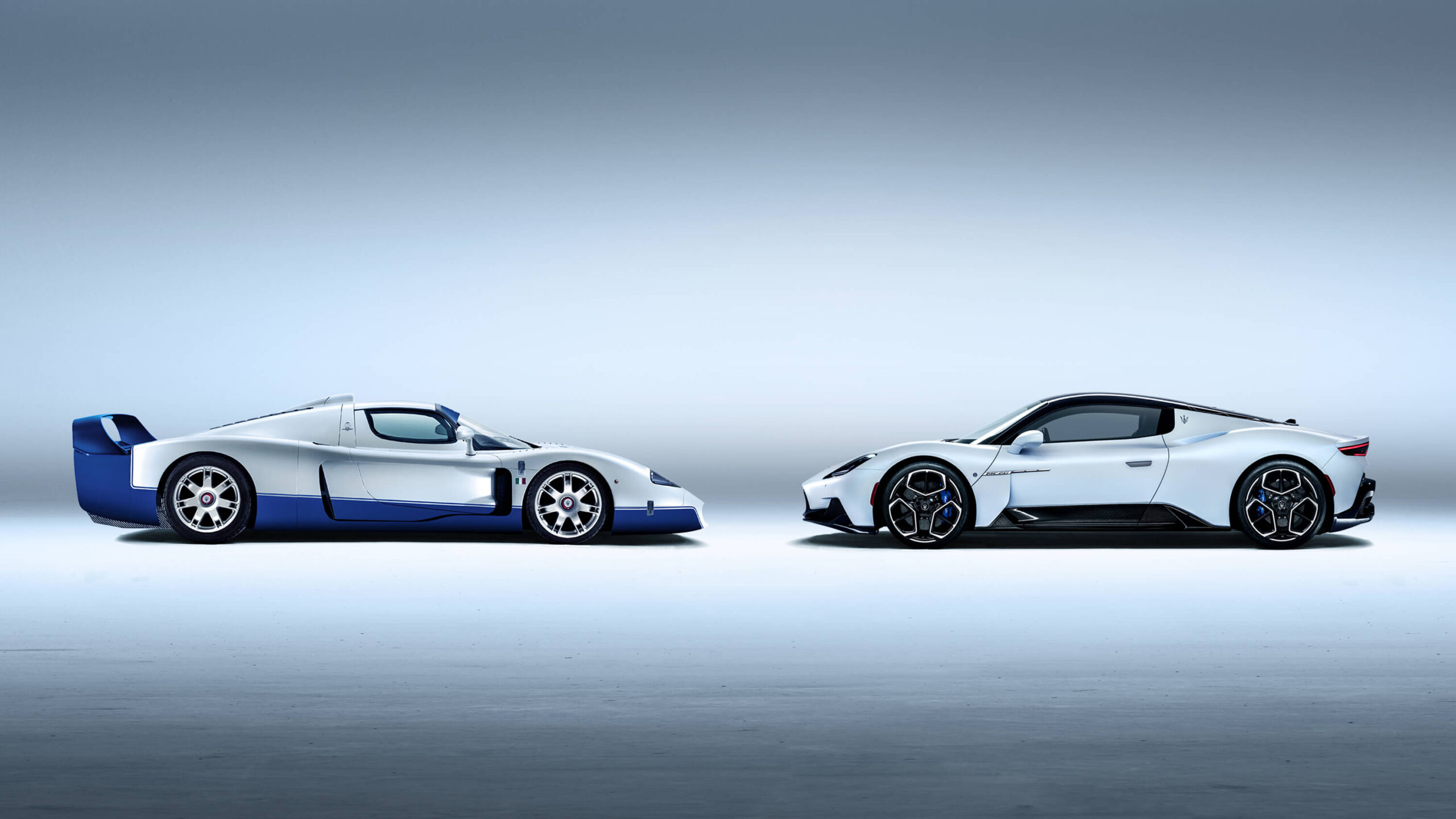 Maserati MC12 and 2021 MC20 design