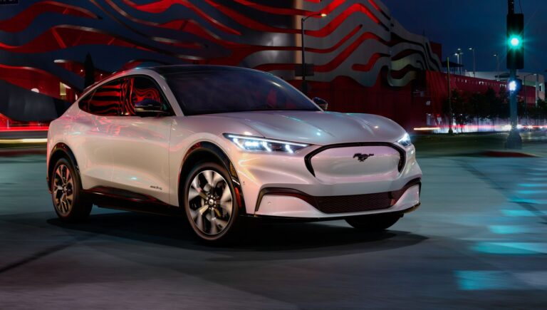 2021 Mustang Mach E: Ford's First All-Electric Crossover