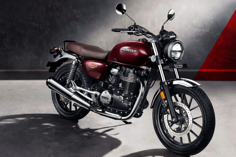 Honda H'ness CB350 Unveiled at Price Rs 1.90 Lakh