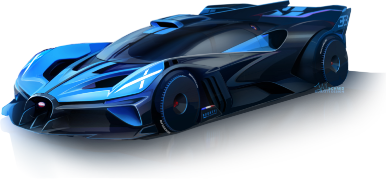 Bugatti Bolide Hypercar with 1825 HP Unveiled