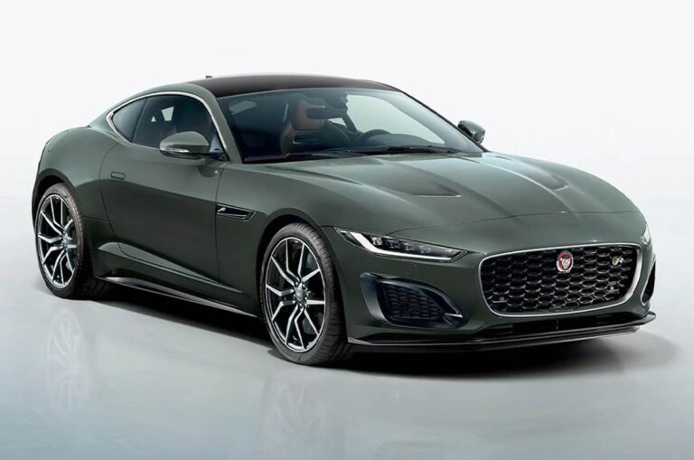 Jaguar F-Type Heritage 60 Edition Unveiled