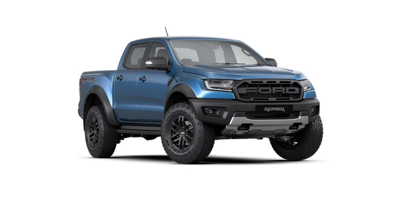 Key Features of India-Bound Ford Ranger Raptor Pick-up