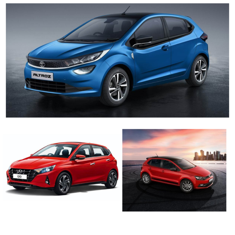 Tata Altroz iTurbo and Rivals: Comparing Specification
