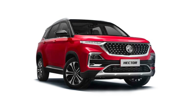 2021 MG Hector Facelift launched at Rs 12.90 Lakh