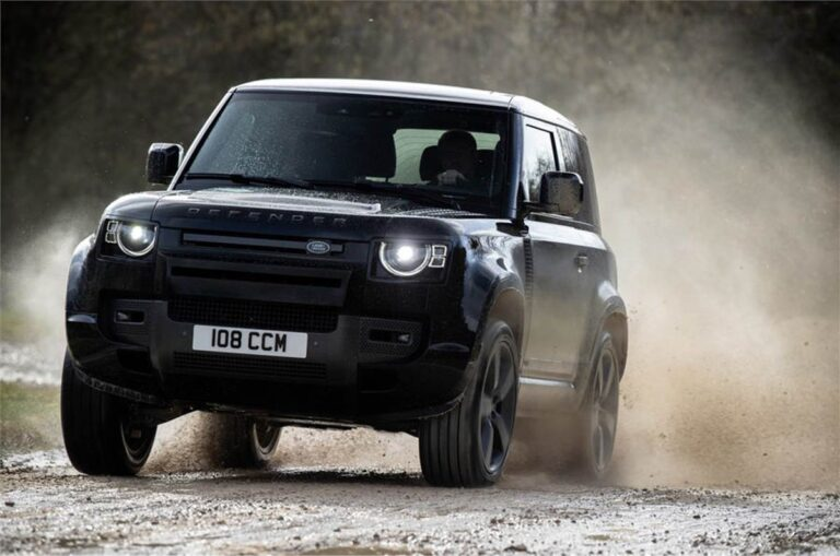 Land Rover Defender V8 unveiled; gets 525PS of power