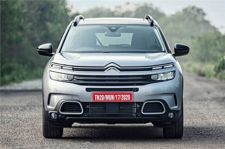 Citroen C5 Aircross revealed in India, gets two variants