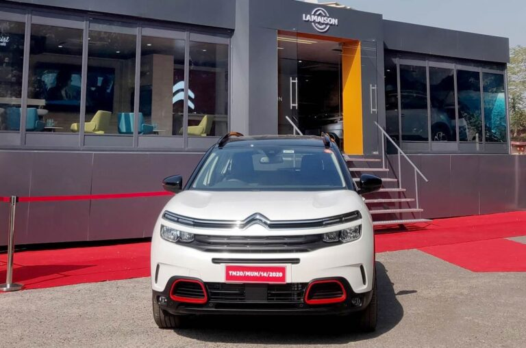 Bookings for 2021 Citroen C5 Aircross started in India
