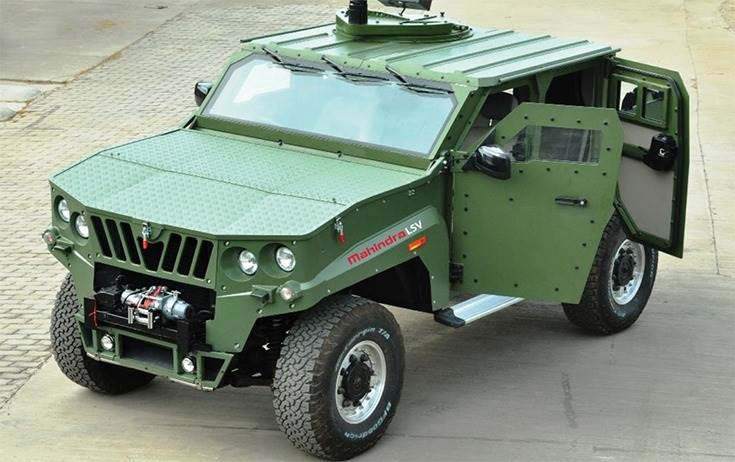 Mahindra Defence Bags Order for 1300 LSVs For India Army