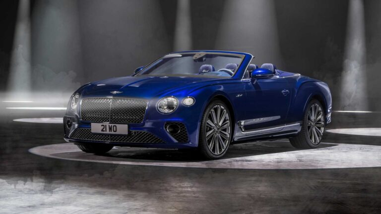 2021 Bentley Continental GT Speed Convertible Revealed