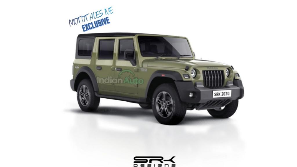 Five-door Mahindra Thar Launch