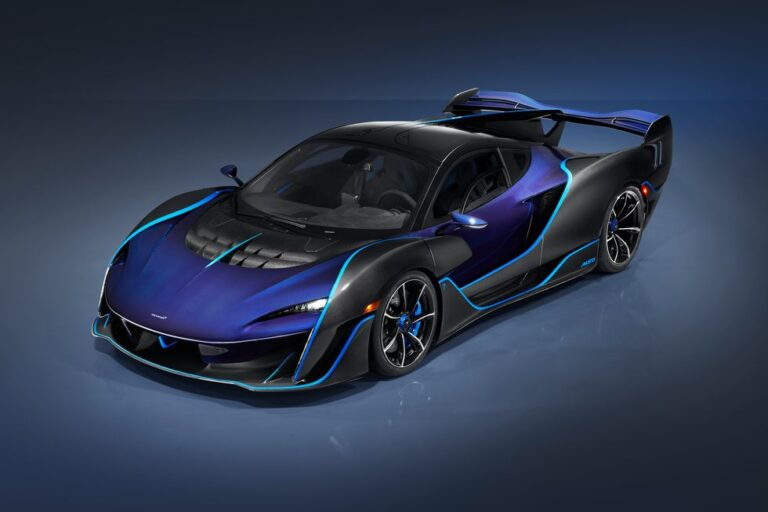 The McLaren Sabre a limited run 835HP hypercar revealed