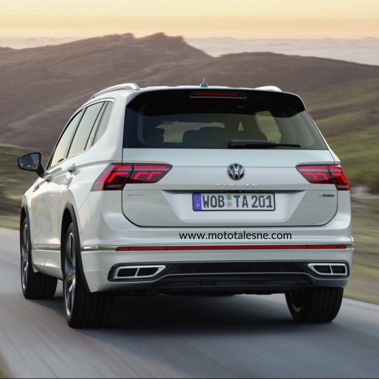 2021 Volkswagen Tiguan Allspace Facelift unveiled