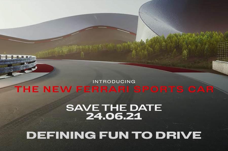 Ferrari Supercar Code named F171 debute in June
