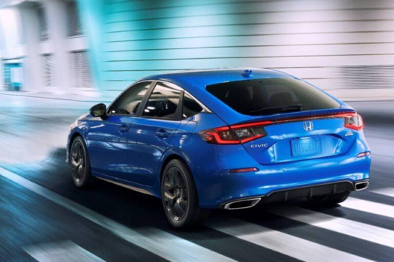 2022 Honda Civic Hatchback revealed