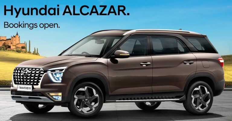 2021 Hyundai Alcazar bookings started before launch