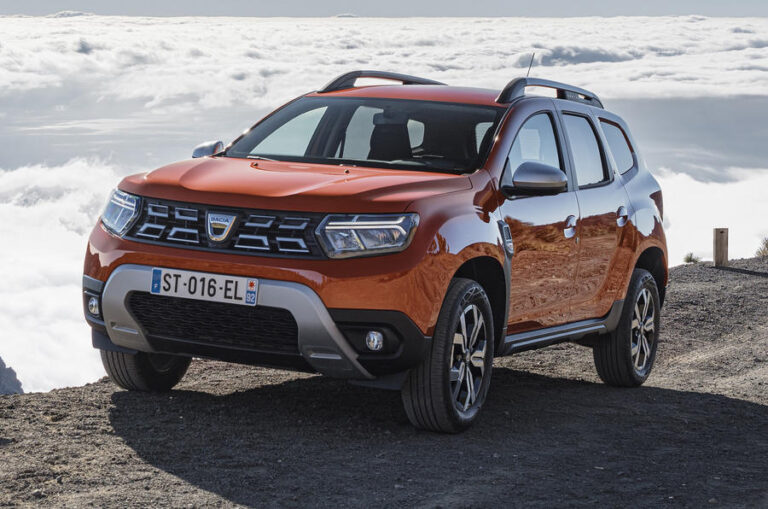 2021 Dacia Duster SUV revealed, gets mid-life facelift