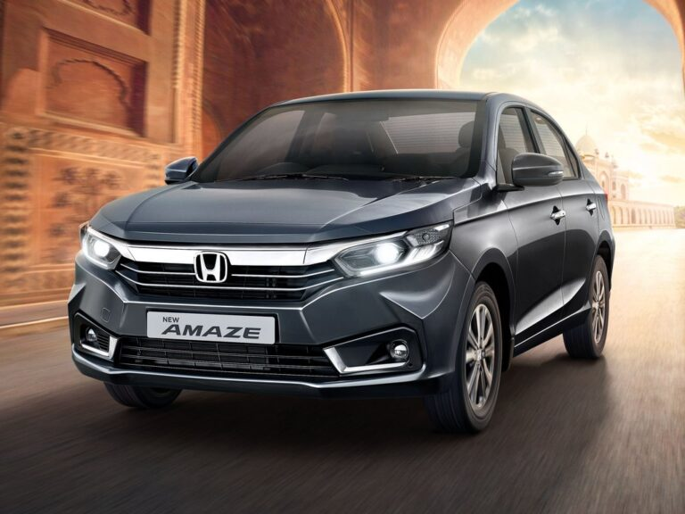 2021 Honda Amaze Facelift Launched at Rs 6.32 Lakh